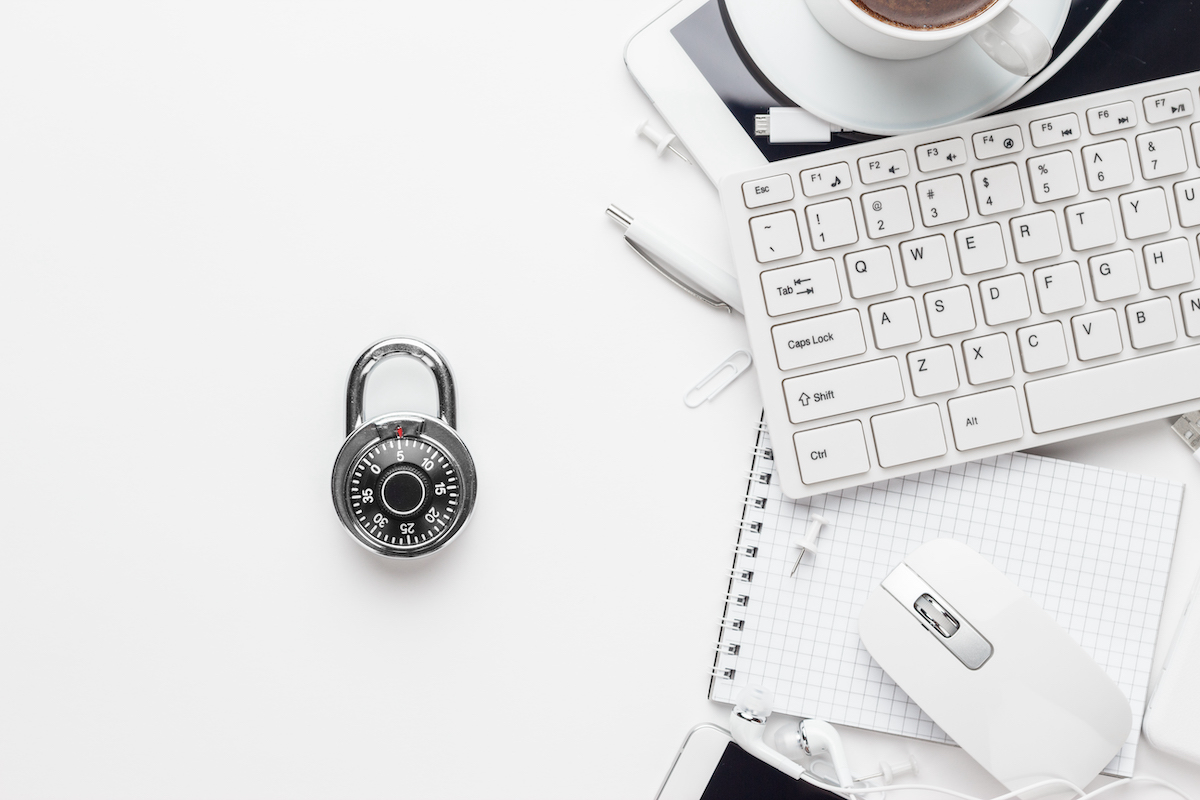 combination-lock-and-different-gadget